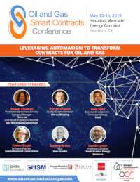 2019 Oil & Gas Smart Contracts Conference Brochure