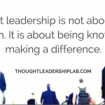 ISM-Houston Thought Leadership