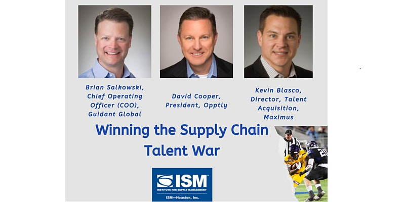Oct 2021 Professional Dinner Meeting Winning the Supply Chain Talent War